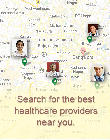 Search for the best healthcare providers near you